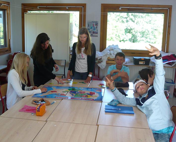 Séjour d'été Jeunes Diplomates - Apprendre en s'amusant