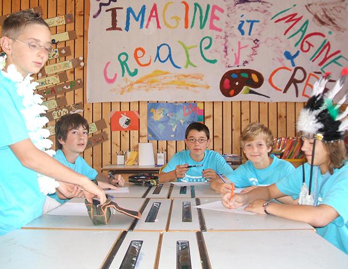 Séjour d'été Jeunes Diplomates - Ateliers créatifs