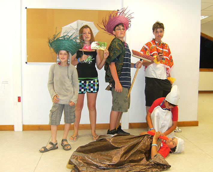 Séjour d'été Jeunes Diplomates - Atelier théâtre