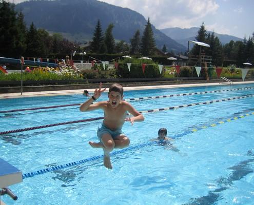 Séjour d'été Jeunes Diplomates - Loisir piscine