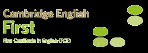 FCE - first certificate in English