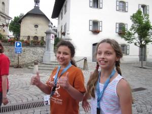 summer camp Megève